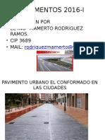 Pavimentos 2016