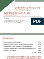 Derecho Internacional Público - Introducción