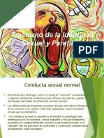 Disfunciones Sexuales, Trastorno de La Identidad Sexual y Parafilias