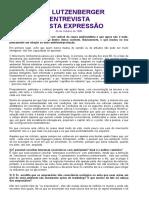 Fundação Gaia - Entrevista Para a Revista Expressão