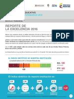 Colegio Agustín Fernández- Reporte Excelencia 2016