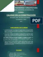 Calidad en La Construcciòn