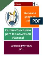A -Segundo Subsidio - Camino Diocesano 2016
