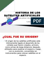Historia de los satelites artificiales