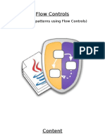 Asterisk Patterns Using Flow Controls (Java)