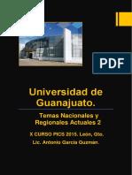 Temas Nacionales y Regionales Actuales 2