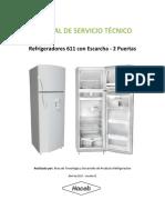 Manual de Servicio REFRIGETADOR CONVENCIONAL HACEB