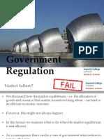 6. Government Regulation