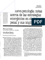 Feeley - Simon Nueva Penologia