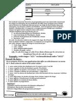 Série d'exercices N°3 - Algorithmique Enregistrement, Fichier - Bac Informatique (2010-2011)  Elève mohamed