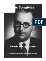 Obras Completas Vicente Amezaga en Donacion Biblioteca Archivo General de la Nacion