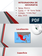 Geografia Mexico