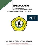 Panduan Penyusunan Laporan PKL