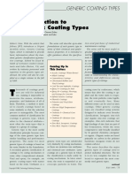 Introduction to Generic Coating Types