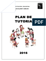 Plan de Tutoria Institucional Jcm 2016.