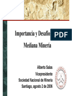 mediana mineria