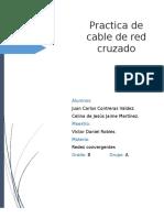 Practica Cable de Red Cruzado