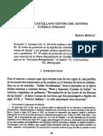 Derecho Castellano