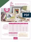 Free Designer Brads Scrapbooking Promotion Flyer