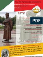 Colloque Caucase 2010