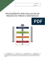 AA_SSDP_00500 Procedimiento Para ER de Tareas y Personal V1.0 Issue _ Nov 2010