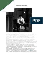Biografia de Carlos Cano