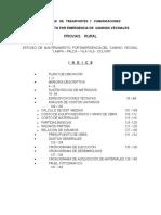 Indice General Estudio de Ing