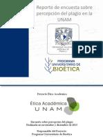 Encuestas Plagio en UNAM