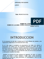 PROYECTO DE AUTOBIOGRAFIA