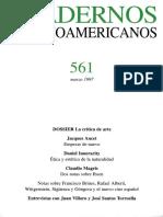Cuadernos hispanoamericanos 561