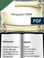 Pengujian GMM