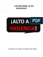 Educación Para La No Violencia