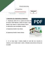 Ficha Numeros Enteros