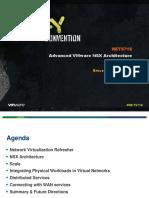 VMWorld 2013 - Advanced VMware NSX Architecture