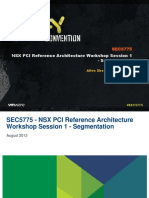 VMWorld 2013 - NSX PCI Reference Architecture Workshop Session 1 - Segmentation