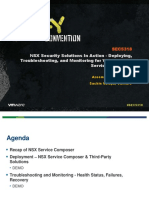 VMWorld 2013 - NSX Security Solutions in Action