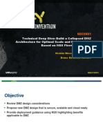 VMWorld 2013 - Technical Deep Dive Build a Collapsed DMZ Architecture
