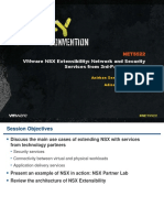 VMWorld 2013 - VMware NSX Extensibility Network and Security Services From 3rd-Party Vendors