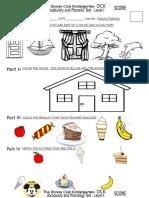 Vocabulary & Phonology Test Sept 2013
