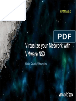 VMWorld 2014 - Virtualize Your Network With VMware NSX