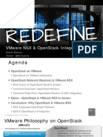 VMWorld 2014 - VMware NSX & OpenStack Integration