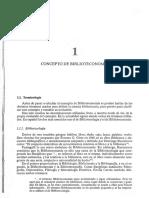 Concepto de Biblioteconomia Cap 1 Orera Orera