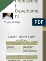 wang yujie professional development