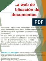 Web de publicacion