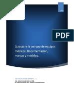 Guia de Compra Equipos Medicos.