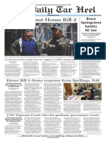 The Daily Tar Heel for April 11, 2016