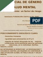 Rol Social de Genero y Salud Mental