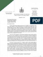2015 September 15 Delegate Korman AG Response