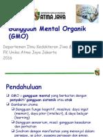 Gangguan Mental Organik (GMO)