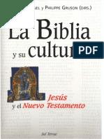 109382386 La Biblia y Su Cultura N T